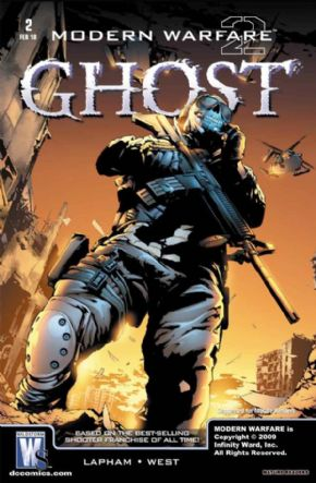 Modern Warfare 2 Ghost #2 Call Of Duty DC Wildstorm comic book